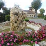 Le Placia et sa fontaine été 2015