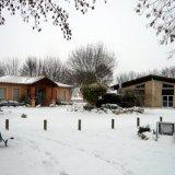 le placia 2 sous la neige